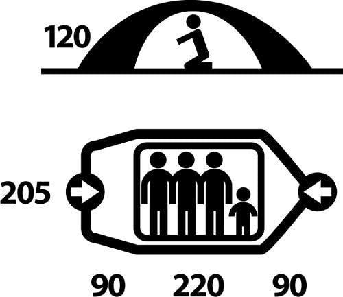 高級 テント 雨風対策 Husky Fighter 3人用 ドームテント ツーリング ソロ キャンプ 登山