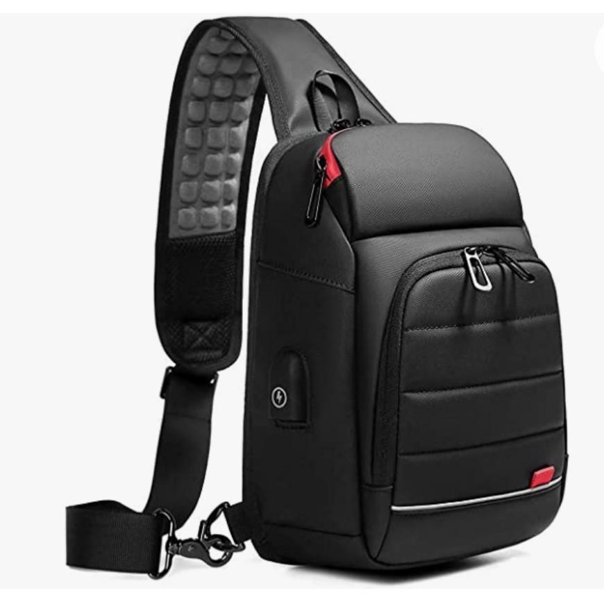 ボディバッグ ワンショルダーバッグ ショルダーバッグ ボディーバッグ ショルダーバッグメンズ 大容量 USBポート 防水 鞄