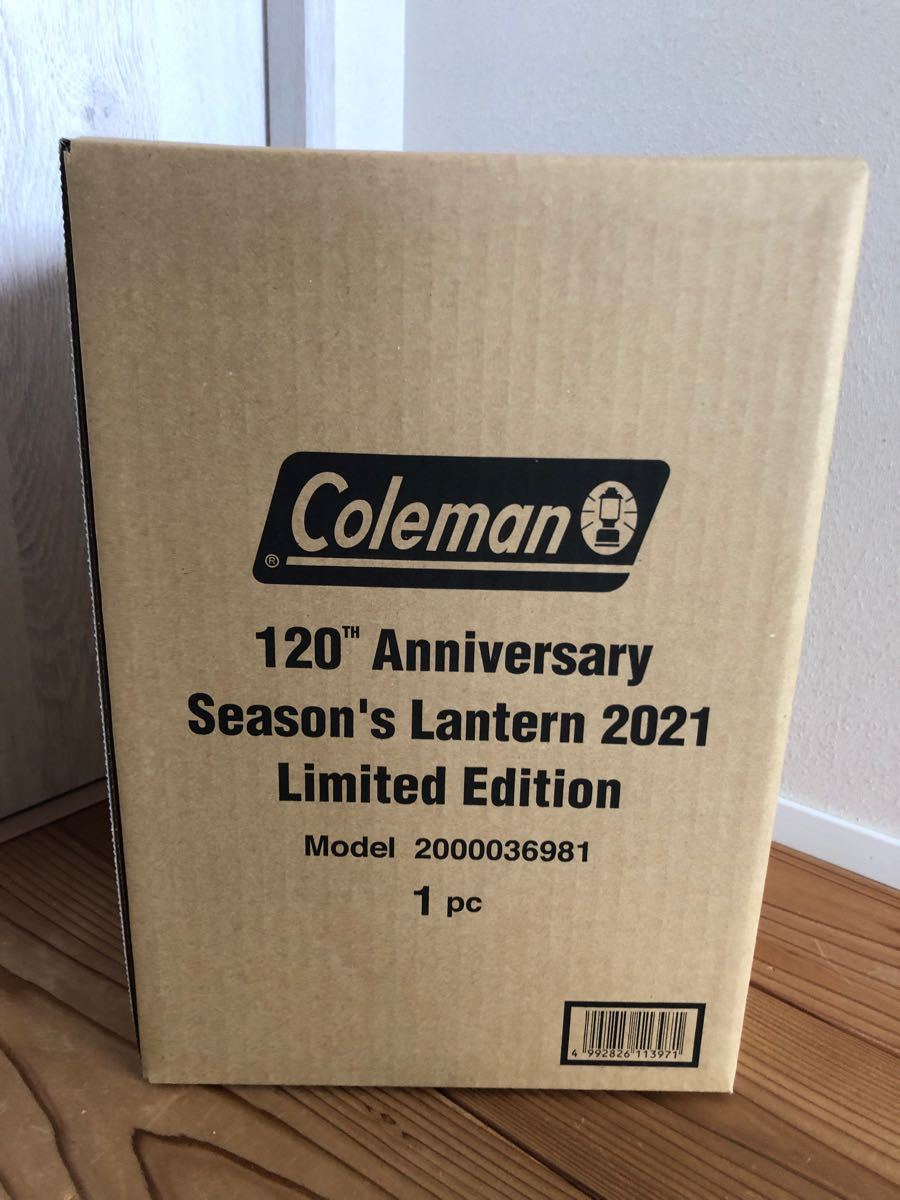 Coleman シーズンズランタン 120周年
