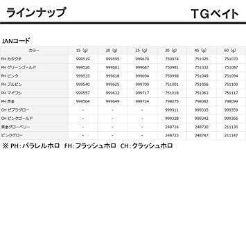 新品ダイワ(DAIWA) メタルジグ TGベイト45g PHグリーンゴールド8H6W_画像4