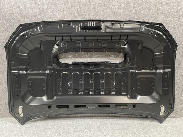 8443 美品/変形凹凸なし WRX STI/S4 VAB/VAG / レヴォーグ VM4 純正 ボンネット フードパネル 57229VA0009P 黒/クリスタルブラック D4S_衝撃吸収/変形ありません