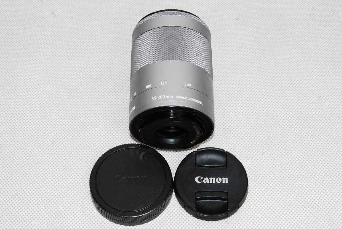 動作未確認・ジャンク・カビあり Canon EF-M 55-200mm 3.5-6.3 IS STM キャノン カメラ レンズ