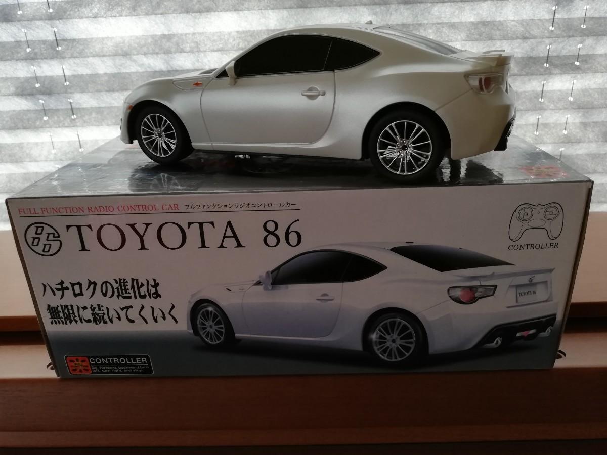 トヨタ86 1/18 ラジコン ミニカー