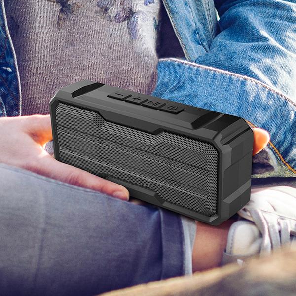 *Bluetooth 高音質 ワイヤレス スピーカー IPX4防水 軽量 ポータブル ハンズフリー通話 充電式 マイク内蔵 TWS機能 wj7_画像5