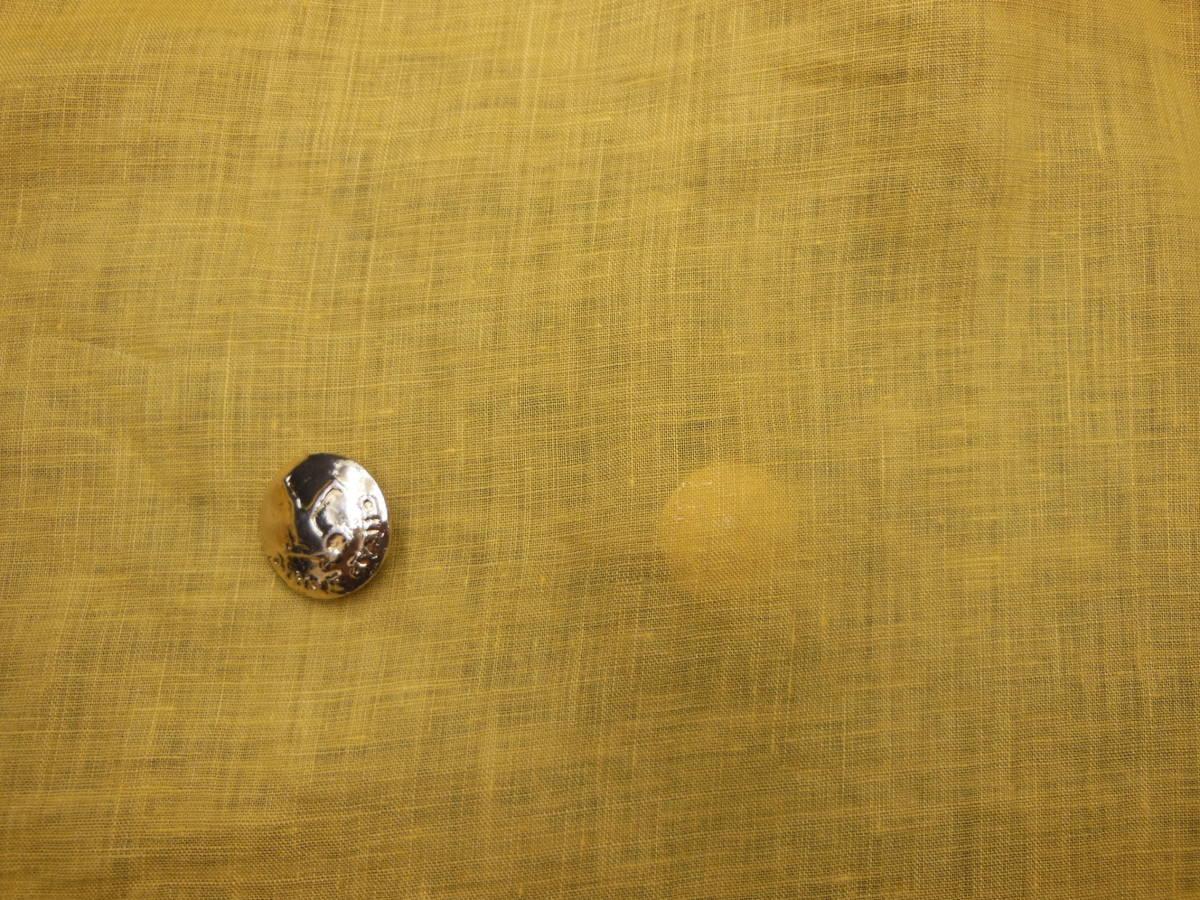 新入荷!掘り出し品!高級ブランドオリジナル!なかなか手に入らない!糸細上質リネン100%!艶の有る!ローンタイプD145cm巾×1,5m _日本製高級ブランド糸細上質リネン100%