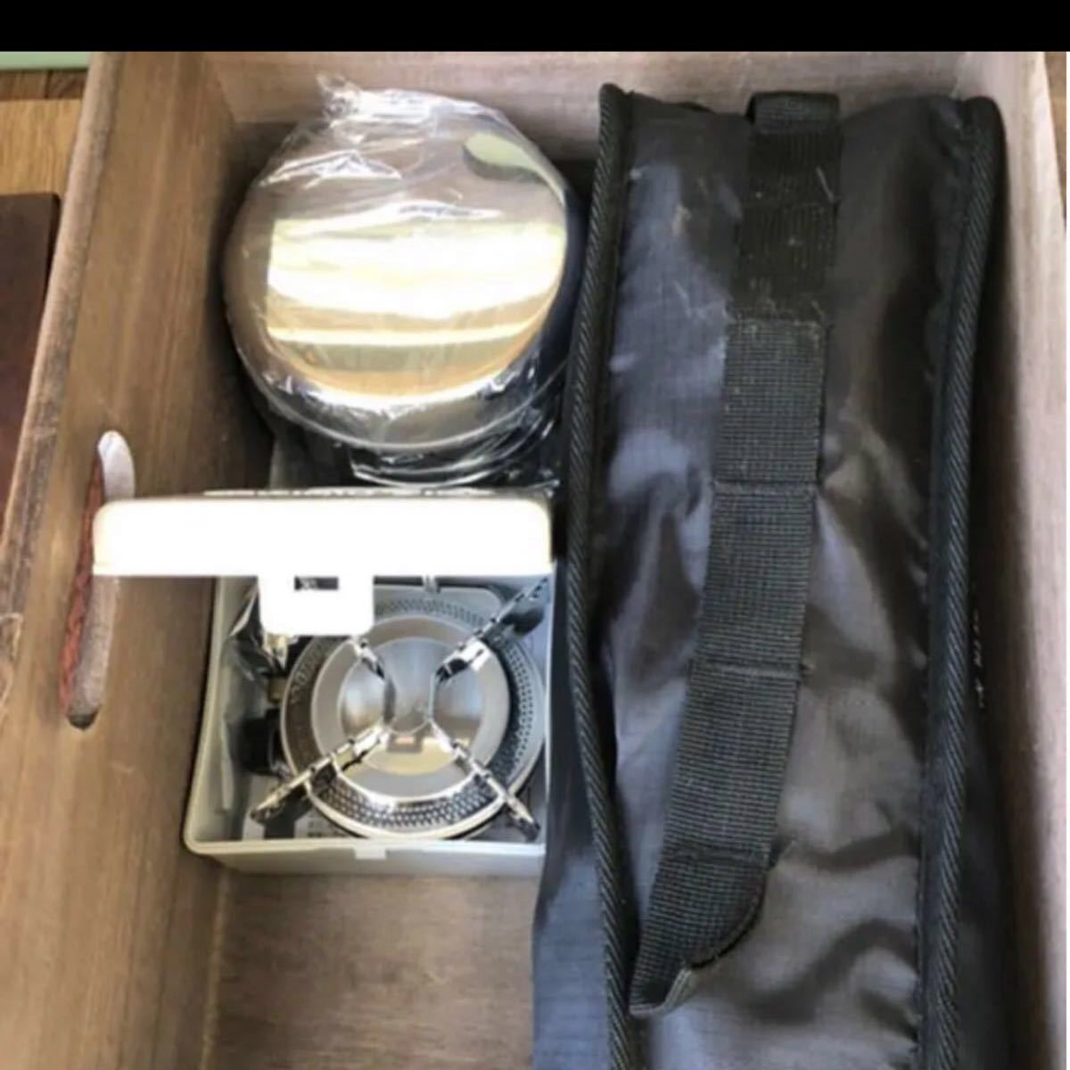 アウトドアテーブル ストレージボックス