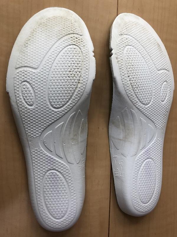 中古 アシックス 21.0cm 紐靴 運動靴 小学生 女の子_画像10