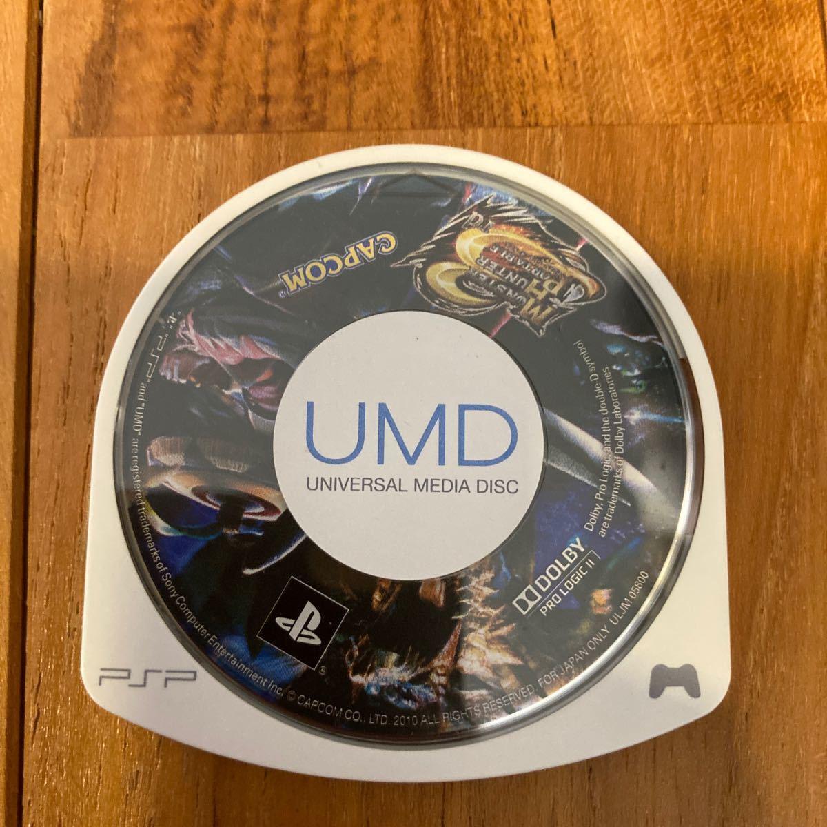 PSP PSPソフト モンスターハンター3rd カプコン