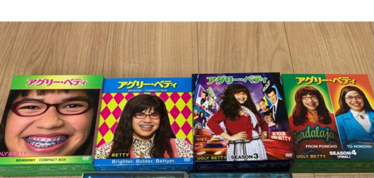 DVD アグリー・ベティ全巻セット