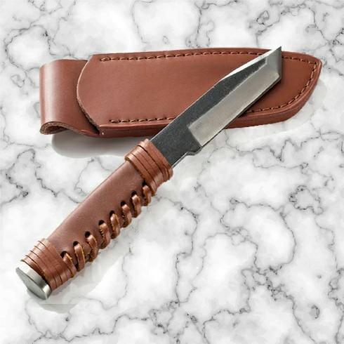 鍛造  短刀  極厚刃 ハンティングナイフ シースナイフ サバイバルナイフ 日本刀 短刀