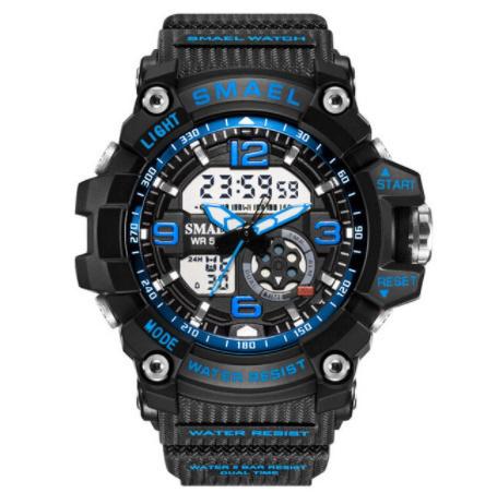 新品 Q2459:ファッション 女性 スポーツ 腕時計 防水 学生 多機能 led デジタル クォーツ ホワイJ85O_画像7