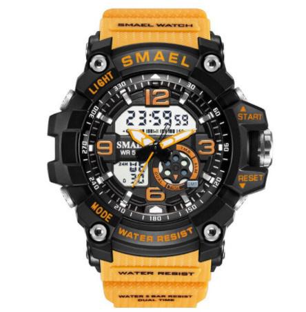 新品 Q2459:ファッション 女性 スポーツ 腕時計 防水 学生 多機能 led デジタル クォーツ ホワイJ85O_画像9
