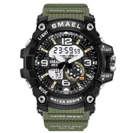 新品 Q2459:ファッション 女性 スポーツ 腕時計 防水 学生 多機能 led デジタル クォーツ ホワイJ85O_画像10