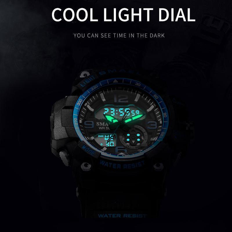 新品 Q2459:ファッション 女性 スポーツ 腕時計 防水 学生 多機能 led デジタル クォーツ ホワイJ85O_画像3