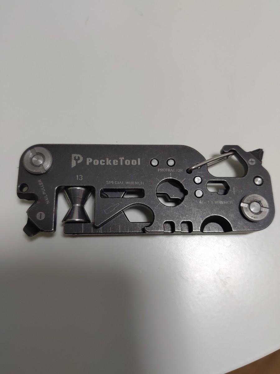 コンパクト マルチツール 30in1 POCKETOOL 2.0