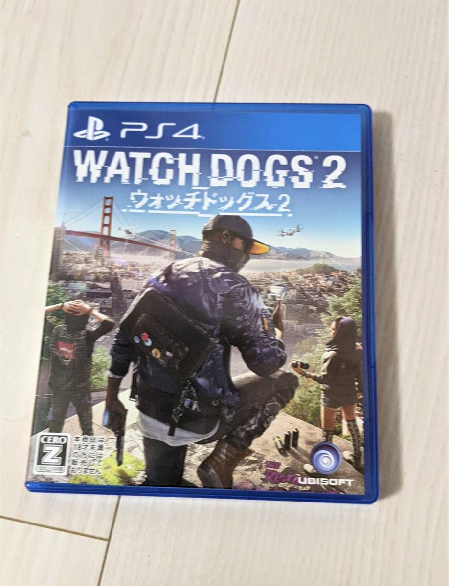 PS4 ウォッチドッグス2