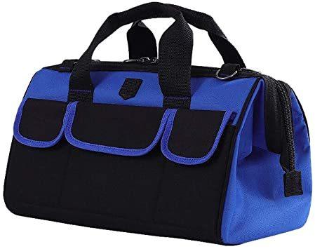 大口工具袋-42B ZMAYA STAR 電工キャンバスバック ツールバッグ 電工用 工具差し 工具袋 大口収納 ウエストバッグ_画像1