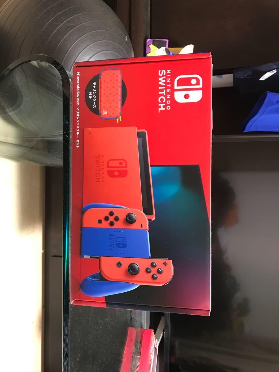 Nintendo Switch マリオレッド×ブルー セット