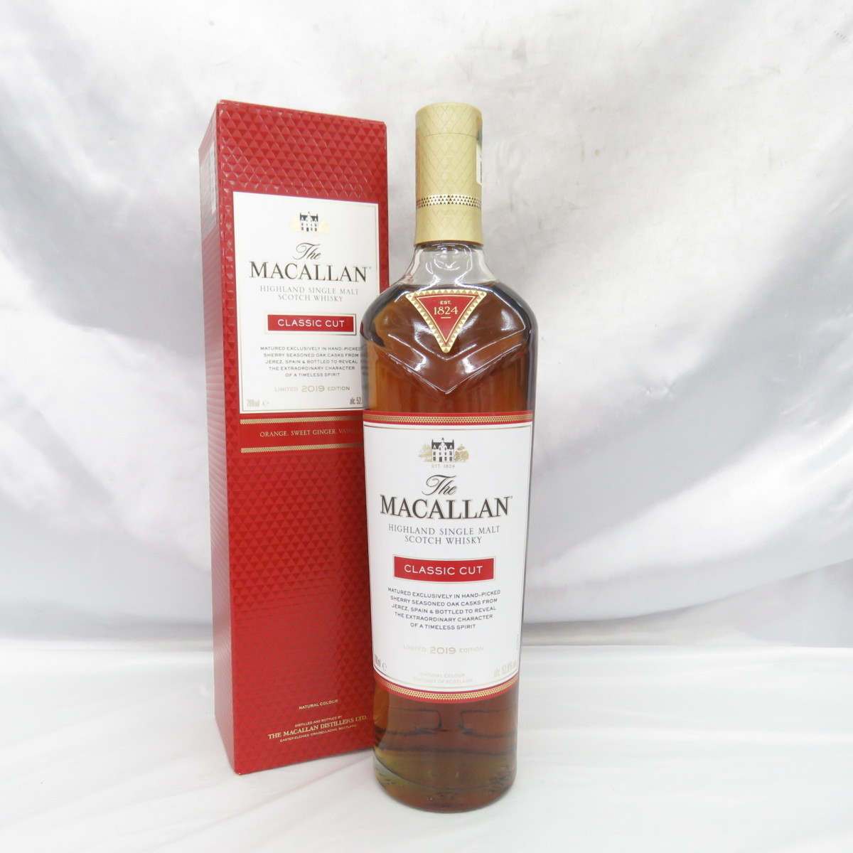 【未開栓】The MACALLAN ザ・マッカラン クラシックカット 2019 ウイスキー 700ml 52.9% 箱あり 10758150