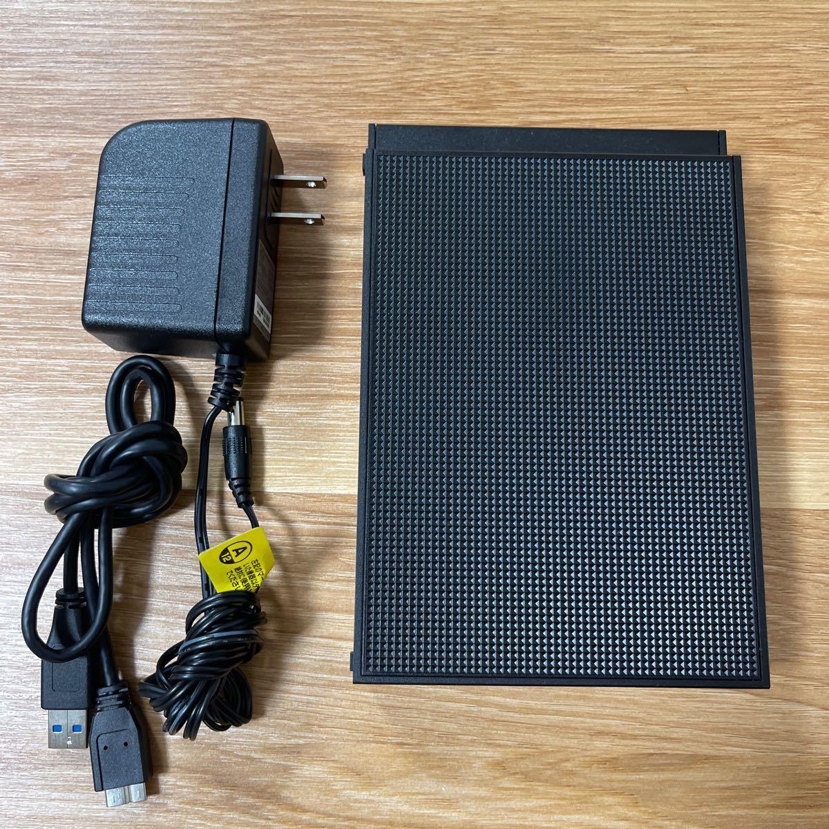 【4TB HDD】I-O DATA 外付けハードディスク EX-HD4CZ