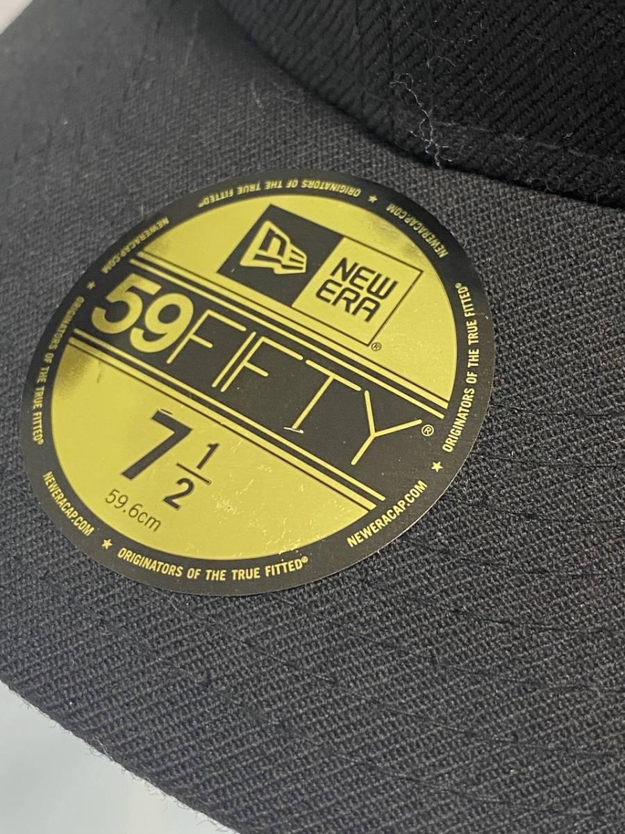 7 1/2 Supreme 18AW Classic Script Logo New Era Cap キャップ クラシック スクリプト ニューエラ_画像2