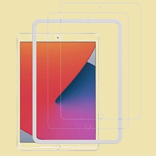 大人気 新品 未使用 NIMASO 2枚セット 5-2K フィルム ガイド枠付き ガラスフィルム iPad 10.2 (8世代 / 7世代) 用 液晶 保護_画像1
