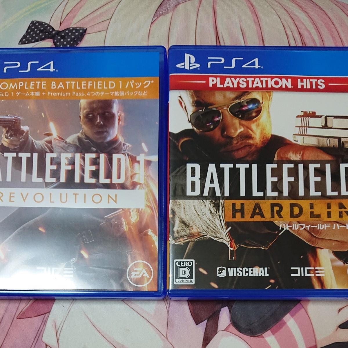 PS4ソフト PS4 バトルフィールド ハードライン 1 battle FIELD