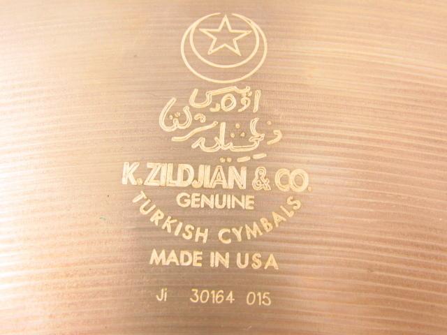 K.Zildjian & co Ride 20 シンバル♪G3160_画像6