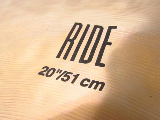 K.Zildjian & co Ride 20 シンバル♪G3160_画像3