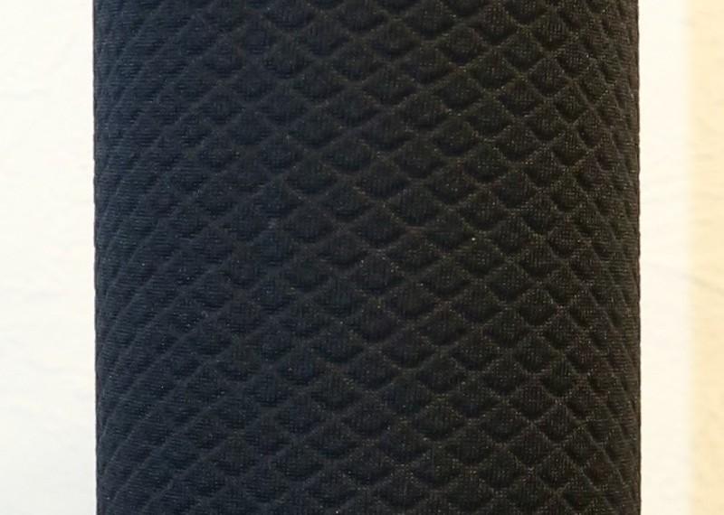 ★水筒カバー★~600ml ショルダー手提げ 2way 水筒ケース 黒エンボス★