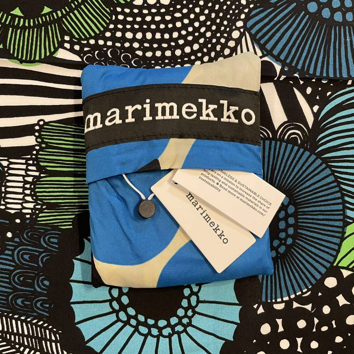 marimekko マリメッコ 新作UNIKKOエコバッグ+定番トートバッグ