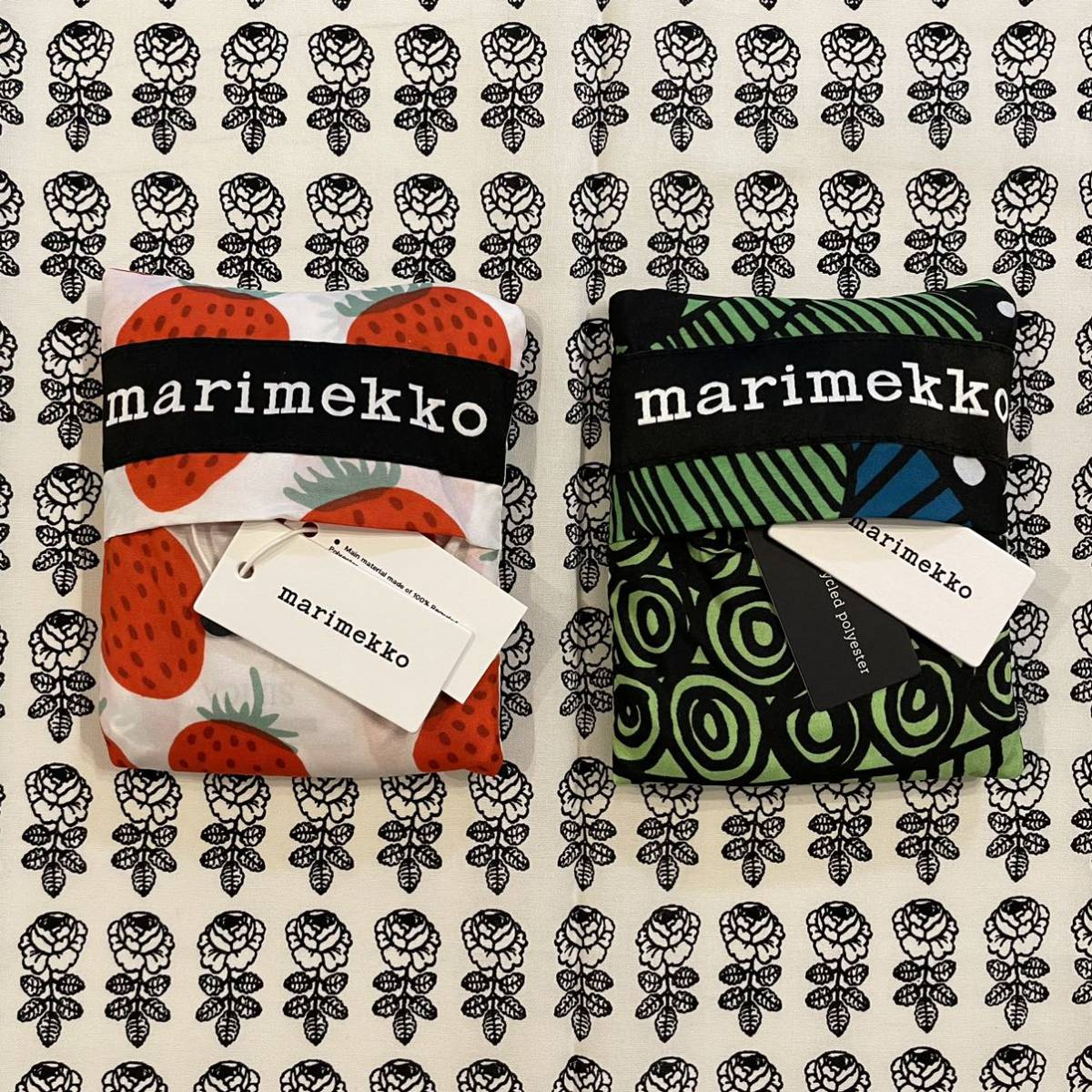 marimekko マリメッコ 新発売マンシッカ スマートバッグ2種 新品送料込_画像8