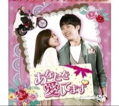 韓国ドラマ「あなたを愛してます」全16話DVD8枚 中古品 キム・ヒョンジュン(SS501 末っ子) イ・スンジェ