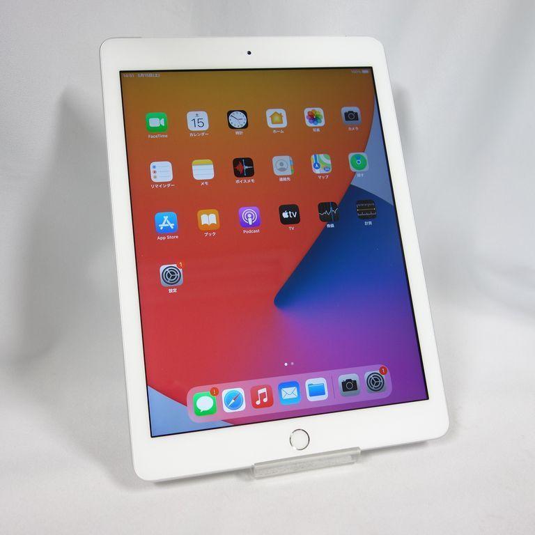 SIMフリー **安心30日保証** Softbank iPad 6 第6世代 32GB シルバー WiFi+Cellular ネットワーク利用制限○ 【k0510-210】兼