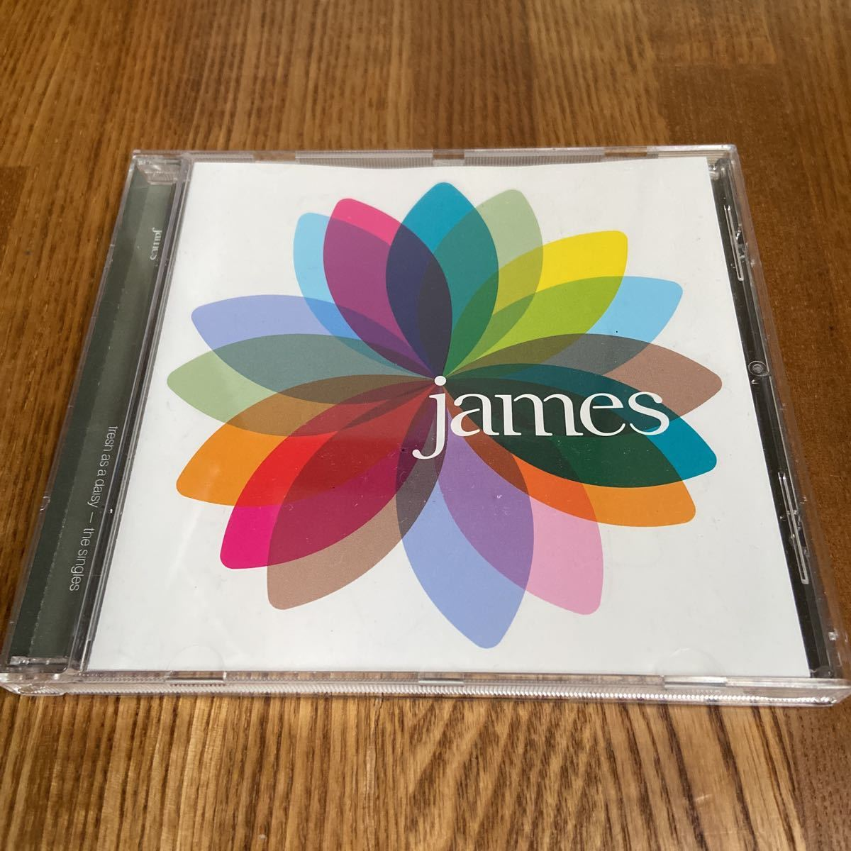 james/ fresh as daisy - the singles ジェイムス 輸入盤 CD