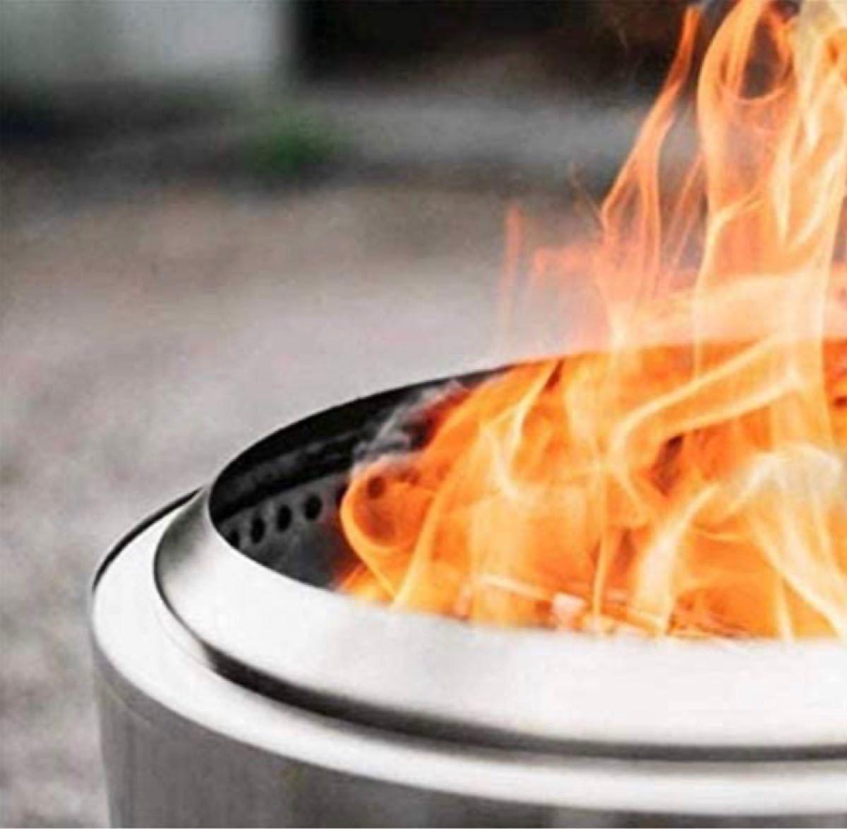 キャンプストーブ 薪ストーブ焚き火台バーベキューコンロ 調理器具ステンレス鋼軽量 小型 携帯焚火台 ソロキャンプ ストーブ