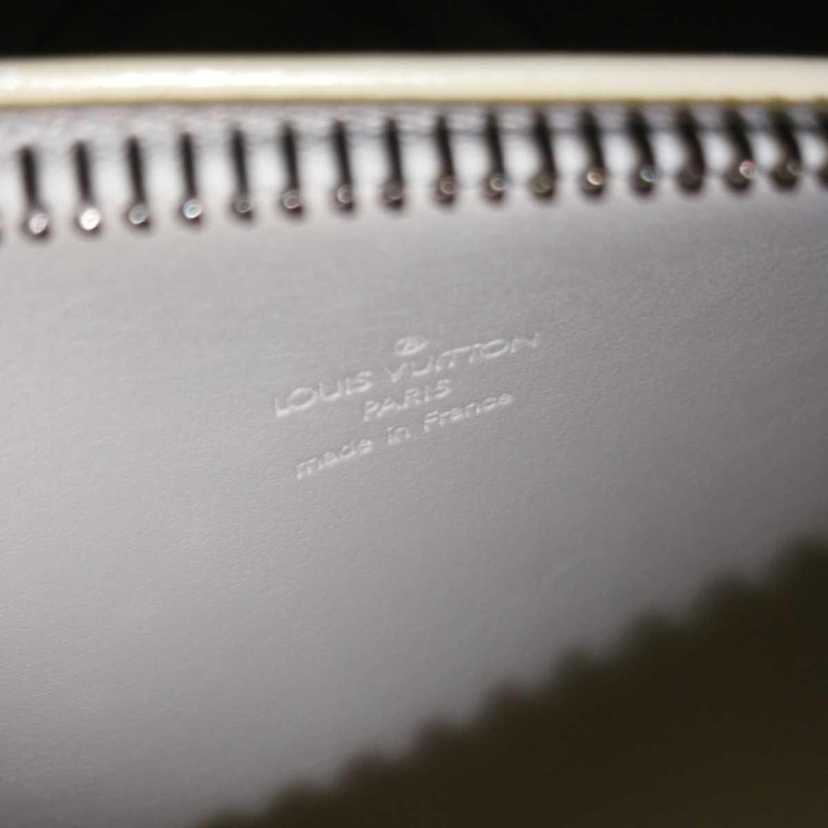 値下げ中 中古 LOUIS VUITTON ルイヴィトン モノグラム ヴェルニ ハンドバッグ ぺルル 保存袋付 送料無料_画像7