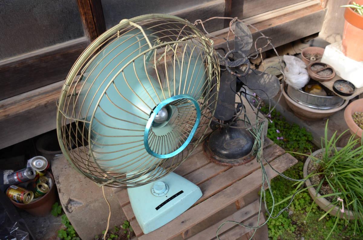 古~い扇風機と昭和な扇風機のセット!_画像2