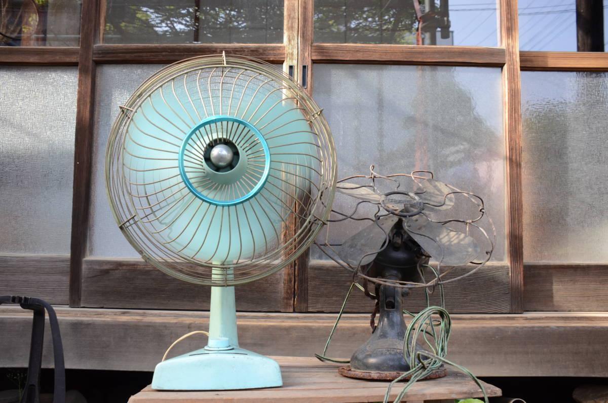古~い扇風機と昭和な扇風機のセット!_画像1