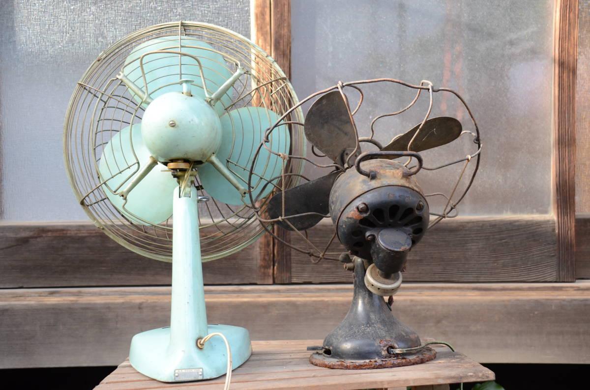 古~い扇風機と昭和な扇風機のセット!_画像3