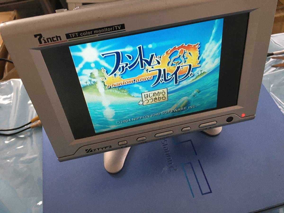 21-PS2-115 プレイステーション2 ファントムブレイブ 動作品 PS2 プレステ2