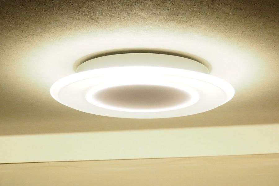 送料無[SALE]展示保証付 パナソニック LEDシーリングライト LINK STYLE LED Bluetooth パネルタイプ ~8畳 調色/調光■HH-XCB0883A■SHOP24_画像1