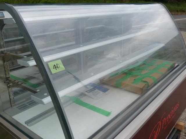 №40 製菓子工場品 ダイヤ冷ケース ケーキ冷蔵ショーケース 2014年 W1800×D850×H1220_画像3