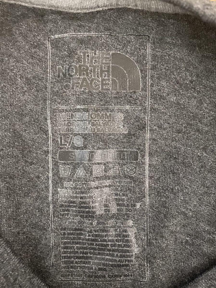 ダークグレイ(L) THE NORTH FACE ノースフェイスTシャツ ハーフドーム