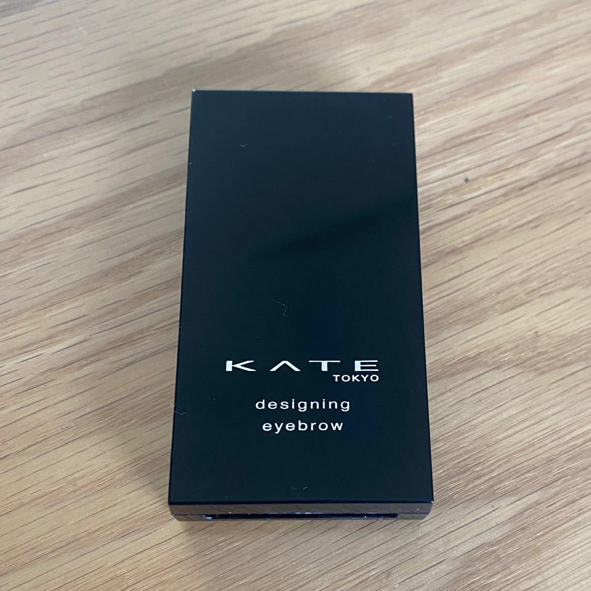 KATE ケイトデザイニングアイブロウ 3D ケイト オリーブグレー系 EX-7 オリーブ