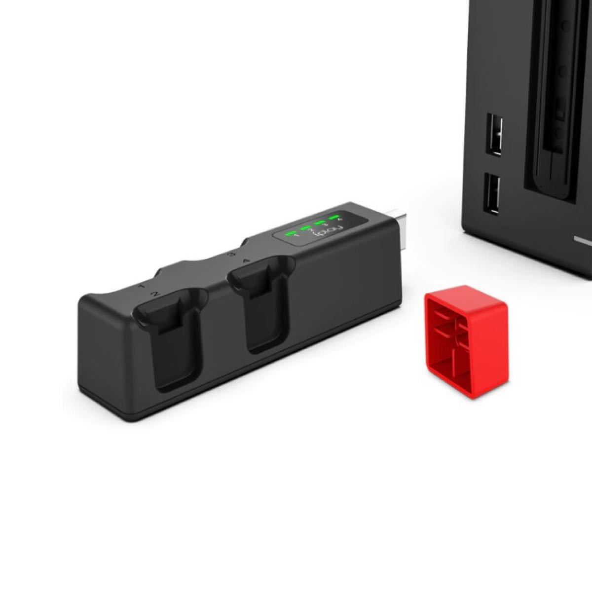 Nintendo Switch スイッチ ジョイコン joy-con 充電スタンド 4台同時充電 任天堂 充電器 ミニ 即日発送