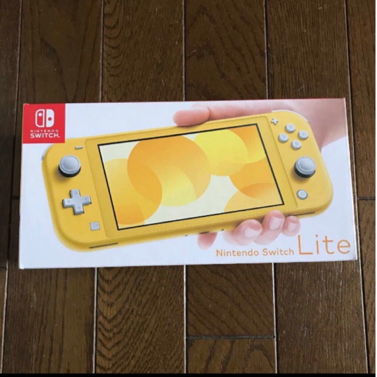 Nintendo Switch Lite 任天堂スイッチライト イエロー 本体