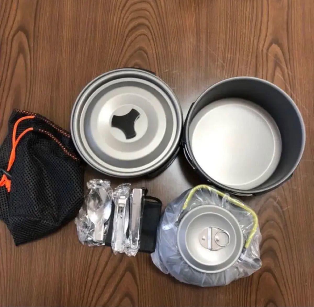 アウトドア調理器具 クッカーセット 新品
