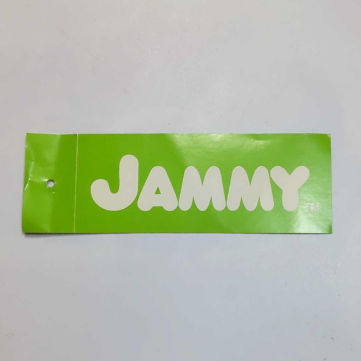 JAMMY ジャミー ステッカー★検)ノベルティー シール 非売品 販促品 デッドストック 当時物 Rody ロディー MTV_画像1