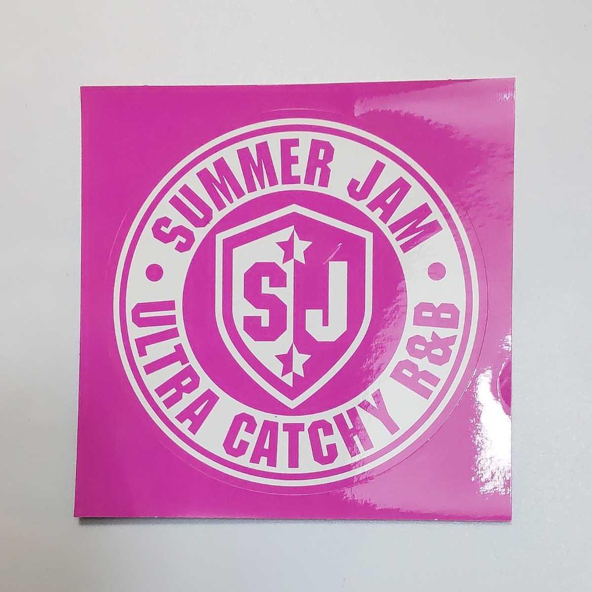 SUMMER JAM ULTLA CATCHY R&B サマージャム ステッカー★検)ノベルティー シール 非売品 販促品 デッドストック 当時物 サマジャム_画像1